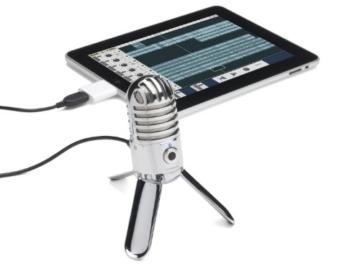 Samson Meteor Mic USB Studio/Podcast Mikrofon silber -